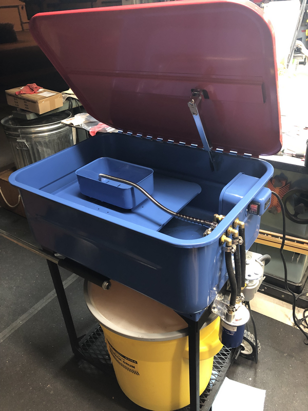 New Upgraded Hf Parts Washer The Garage Journal Board